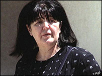 Mirjana Markovic, widow of Slobodan Milosevic