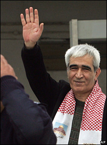 Ahmed Saadat, in a January 2005 photograph
