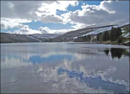 Janet Gupwell took this picture on a walk around Tal-y-Bont reservoir at Brecon