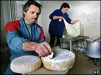 Italian cheesemaker