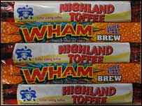 Highland toffee and wham bars