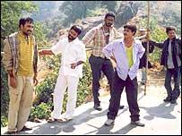 Left to right: Pankaj, Digvijay, Akbar, Amit, Omprakash and Saksham