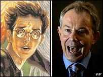 Harry Potter y Tony Blair