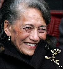 archive image of Te Arikinui Dame Te Atairangikaahu