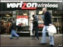 Verizon shop in the US