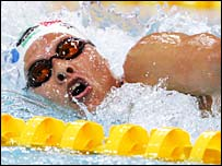 Natalie Du Toit was a Commonwealth swimmer before her accident