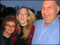 Sharon Saltoun and her parents