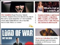 Sitio web de la firma brit�nica  LoveFilm