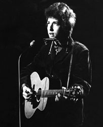 Bob Dylan, photographed in 1965