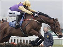 Brave Inca, ridden by Tony McCoy