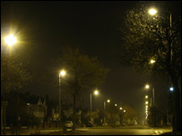 Street lights (Image: Darren Baskill)