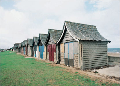 Beach huts in Lincs � English Heritage