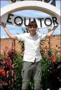 Simon in Uganda