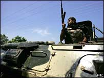 Soldier in eastern Sri Lanka