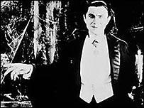 Bela Lugosi en su papel del Conde Drácula