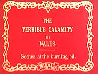 Newsreel footage of the Senghennydd pit disaster