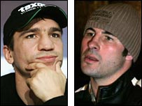 Markus Beyer (left) Joe Calzaghe (right)