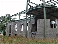 House being built by Edward Haughey, aka Lord Ballyedmond
