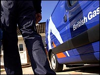 British Gas workman