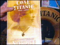 Titanic piece of coal