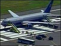 United Flight 923 at Logan International Airport, Boston