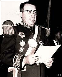 Alfredo Stroessner in 1958