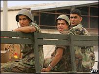 Ливанские солдаты