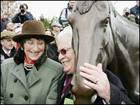 Best Mate's trainer Henrietta Knight and owner Jim Lewis