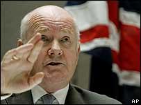UK Home Secretary John Reid