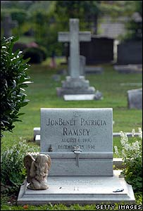 JonBenet Ramsey's grave in Georgia