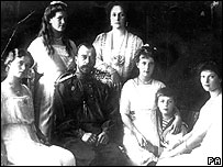 Tsar Nicolas II and family in 1914