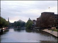 The River Avon in Stratford