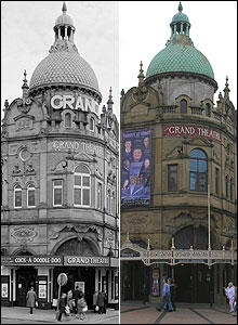 Grand Theatre, Blackpool  � English Heritage (left pic)