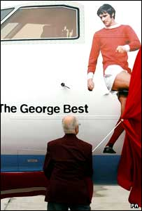 Dickie Best unveils and image of George