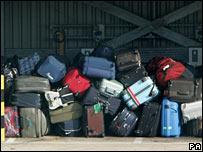Bags at Heathrow Airport