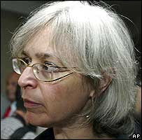 The late Anna Politkovskaya