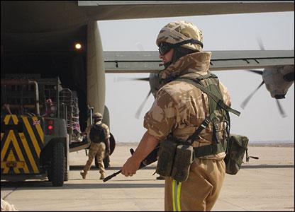 Basra airfield
