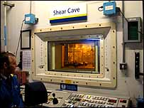 Shear cave at Sellafield