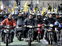 Couriers on strike in Athens