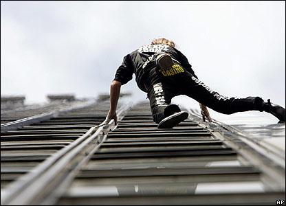 'Spiderman' Alain Robert