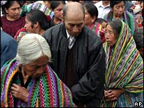 Maya Indians in Guatemala - File photo