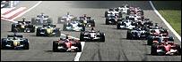 Salida del GP de Bahrein
