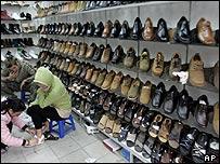 Shoe shop in Vietnam