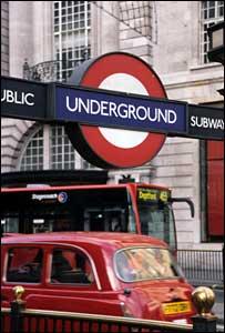 Cab, bus, Tube, pic by TfL