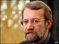 Iranian nuclear negotiator Ali Larijani