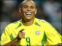 Ronaldo in World Cup 2002