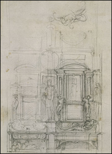 Studies for a Double Wall Tomb