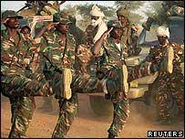 Chadian soldiers (Pic: Opheera McDoom)