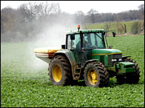 Tractor and sugar beet (BBC)