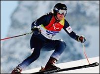 GB Paralympic skier Liz Miller